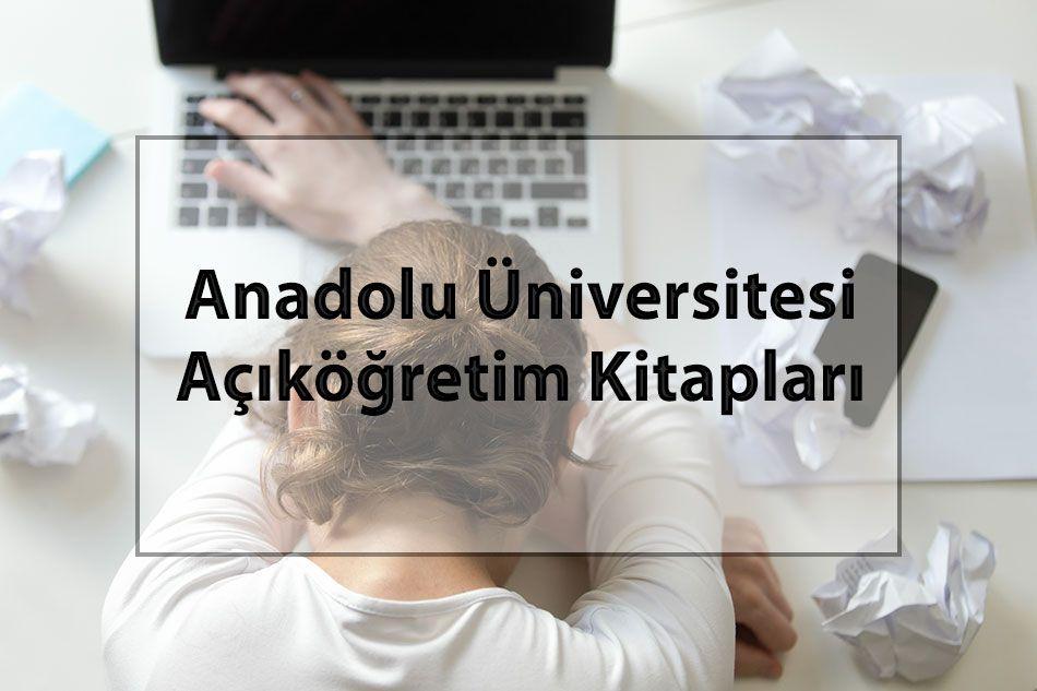 Anadolu Üniversitesi Açıköğretim Kitapları